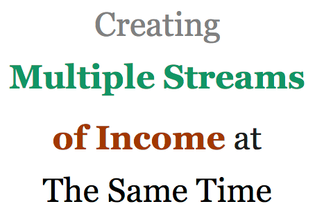 Multiple-streams-of-income